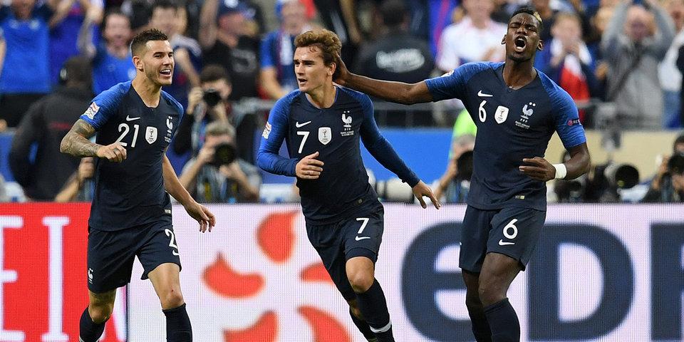 Дубль Гризманна принес Франции победу над Германией