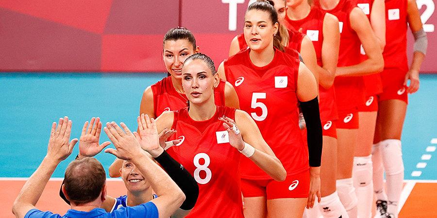 Женская сборная России по волейболу в трех партиях обыграла Аргентину на Олимпиаде