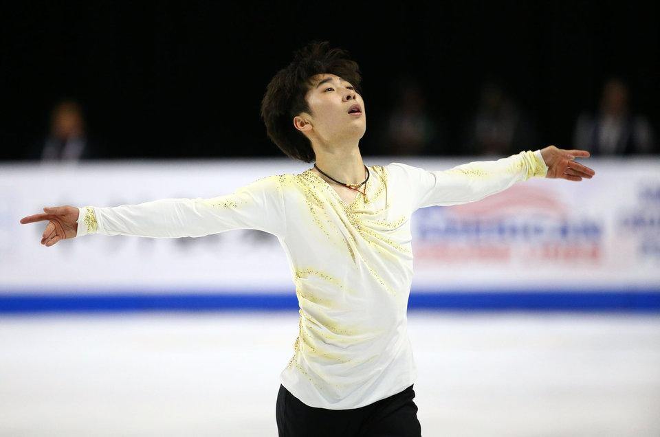 Чэнь Хуньи и Боян Цзинь стали победителями Гран-при Китая