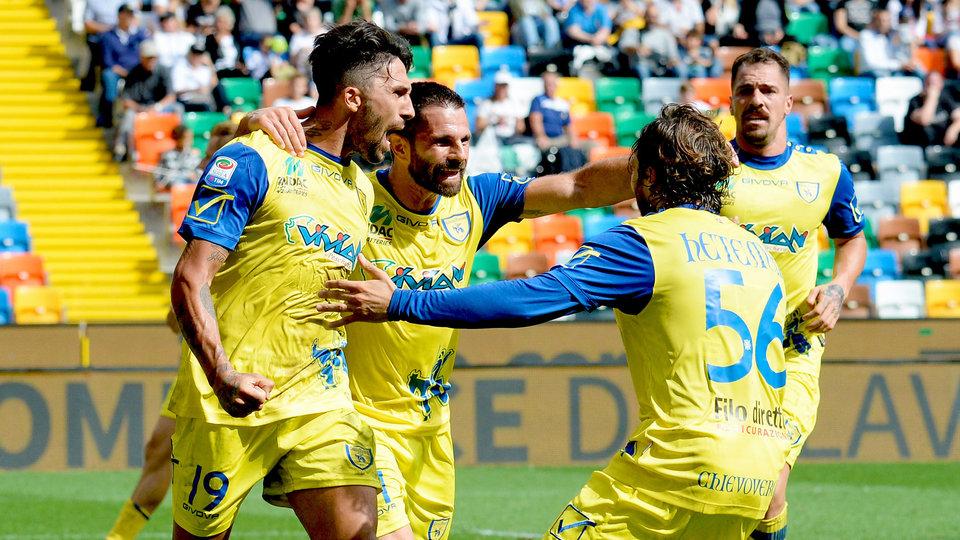 «Кьево» в меньшинстве сумел удержать ничью в матче с «Сампдорией»