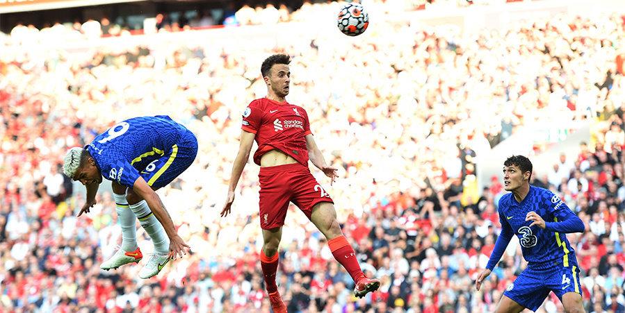 «Челси» сыграл вничью с «Ливерпулем», отыграв тайм вдесятером