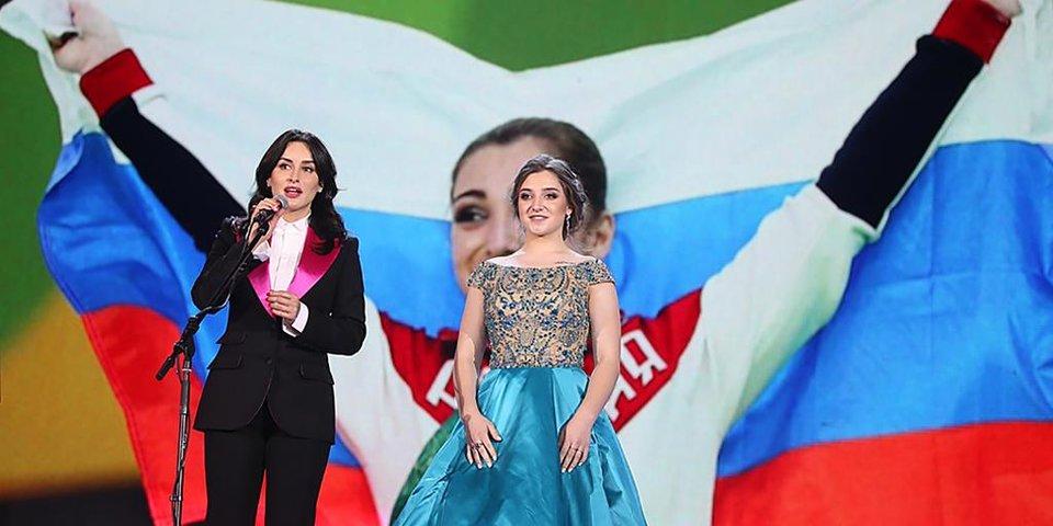 Лучшие фото  с «Бала олимпийцев России»