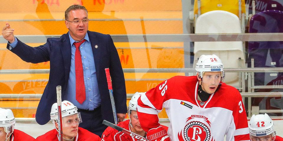 Валерий Белов: «Игра была совершенно равная, но удача повернулась к «Северстали»