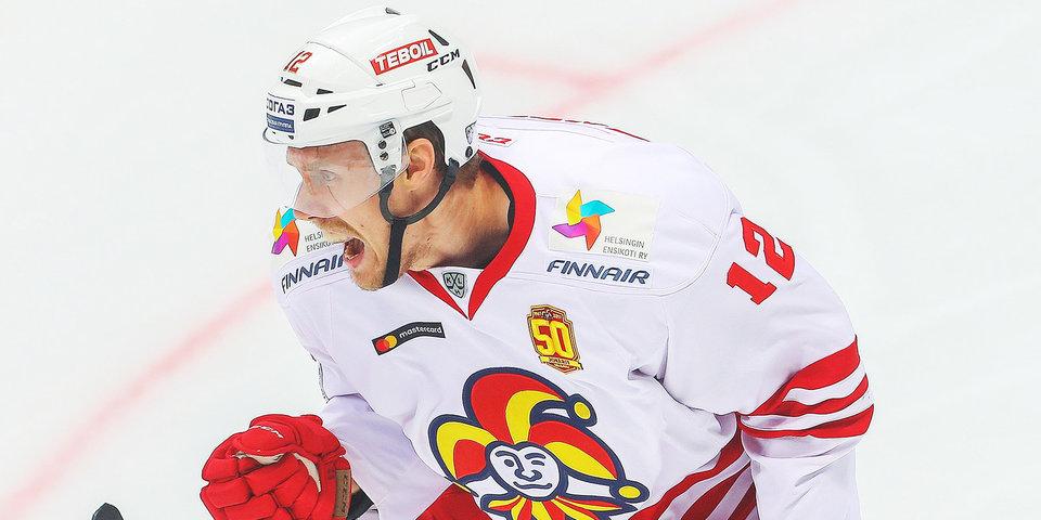«Йокерит» на выезде обыграл рижское «Динамо», Анттила провел 250-й матч в КХЛ