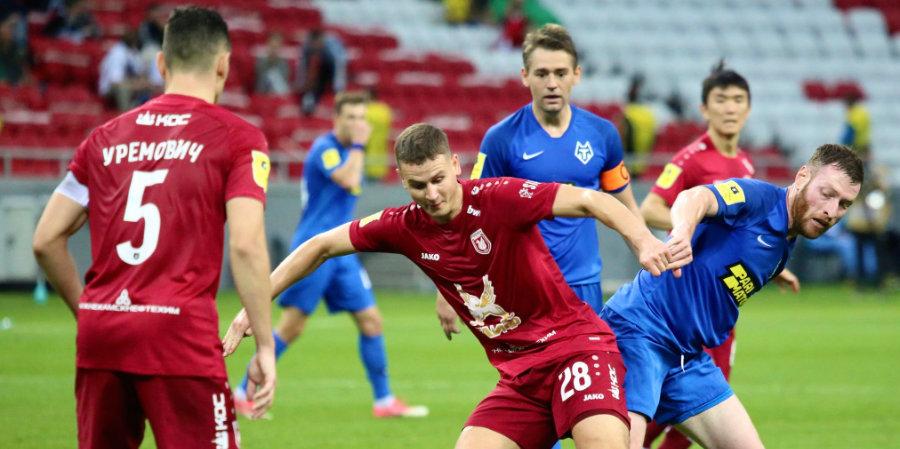 «Рубин» ушел от домашнего поражения в концовке матча с «Тамбовом»