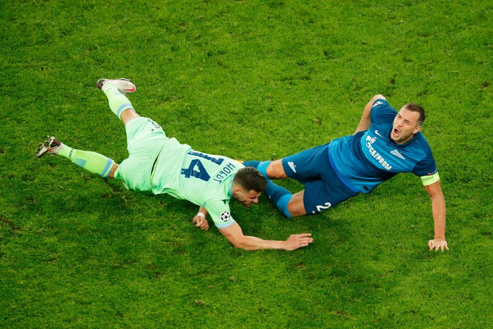Геркус назвал матч с «Лацио» лучшим для «Зенита» в Лиге чемпионов