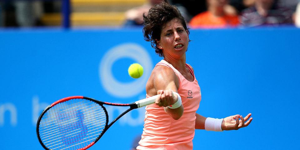 Российская теннисистка Жук проиграла Суарес-Наварро на турнире WTA