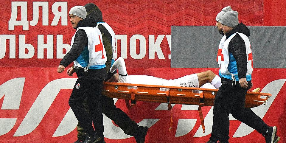 У Ротенберга диагностировано повреждение передней крестообразной связки колена