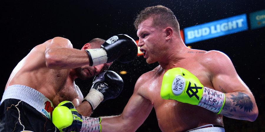 Сауль Альварес назван боксером года по версии The Ring