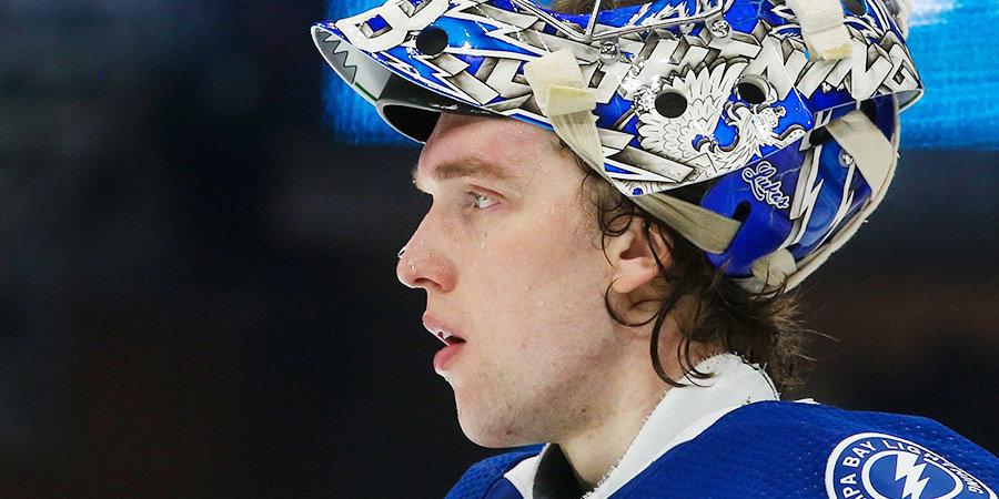 «Тампа» стартовала в новом сезоне НХЛ с победы над «Чикаго», Василевский отразил 22 броска