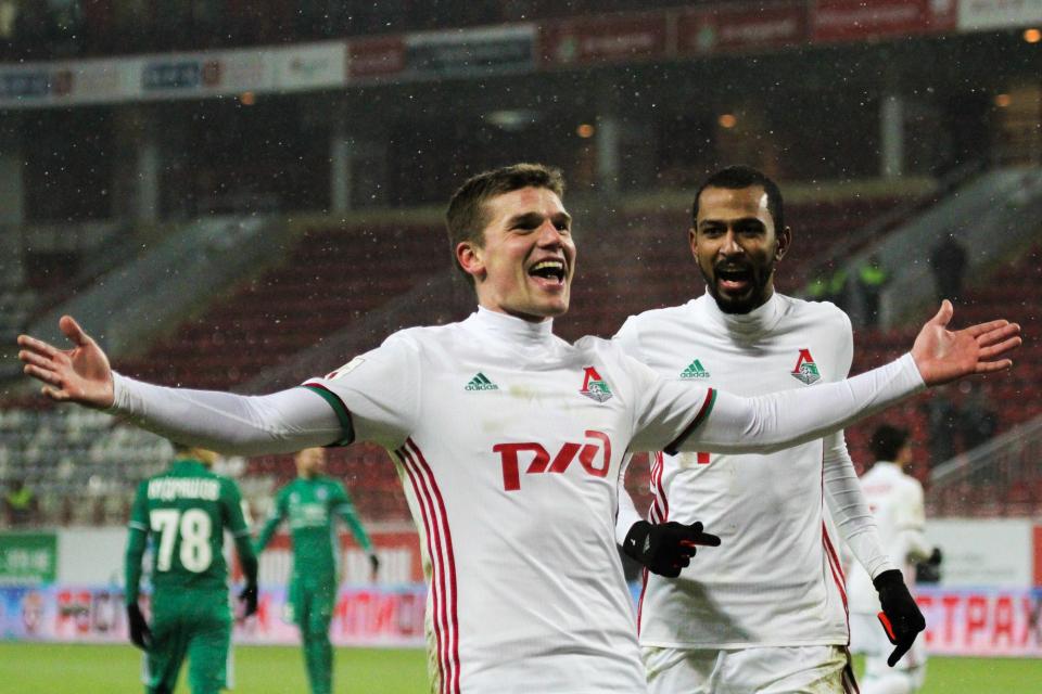 Денисов забил самый красивый гол «Локомотива» в 2016 году