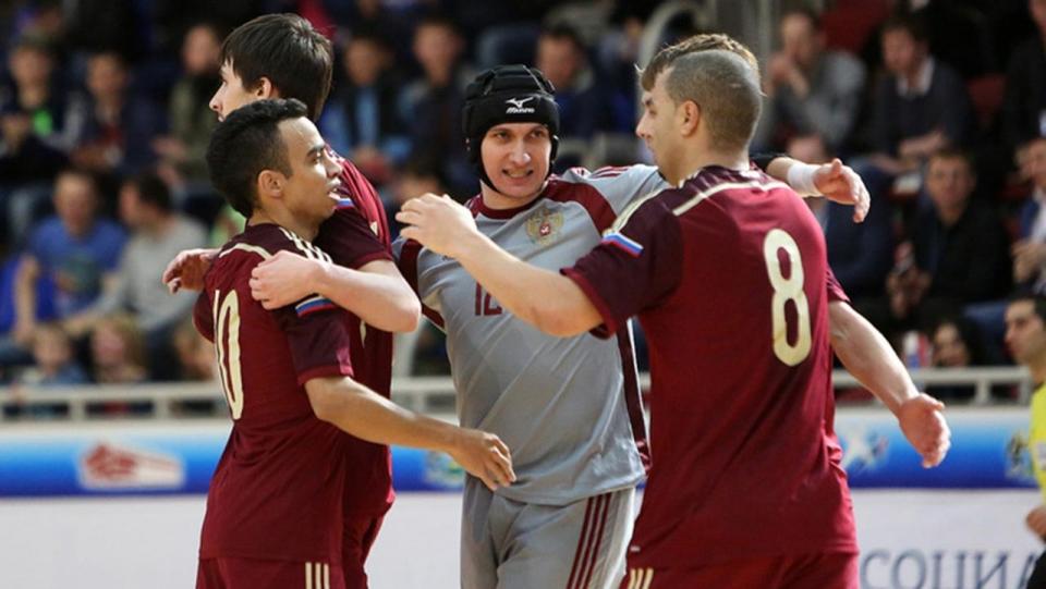 Сборная России вышла на ЧЕ-2018 по мини-футболу после победы над Словакией