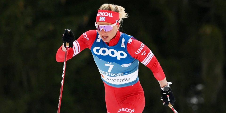 Сорина победила в гонке с раздельным стартом на всероссийских соревнованиях по лыжероллерам