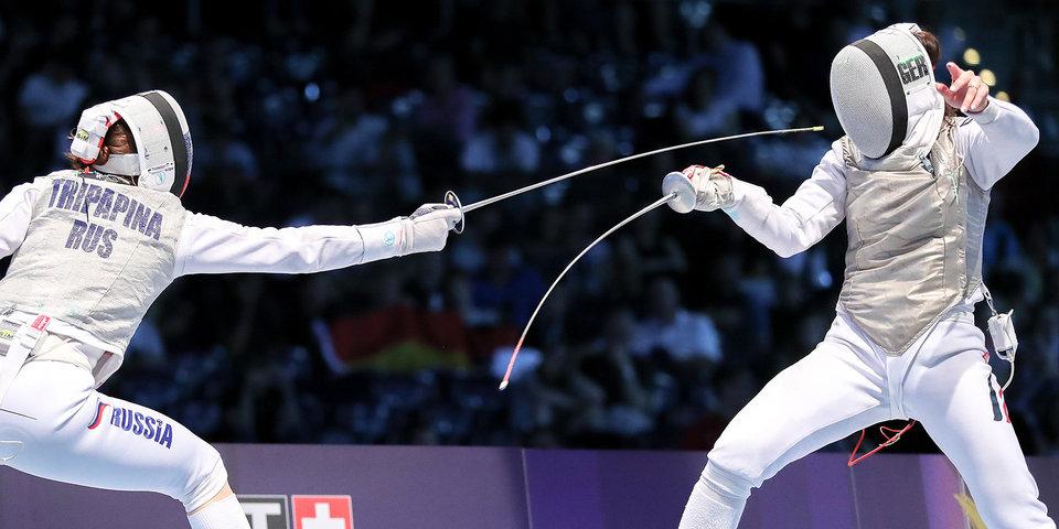 Сборная России продолжает лидировать на чемпионате мира по фехтованию