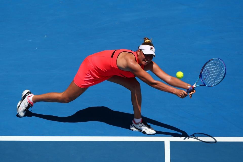Звонарева победила Гергес и вышла в четвертьфинал турнира в Санкт-Петербурге