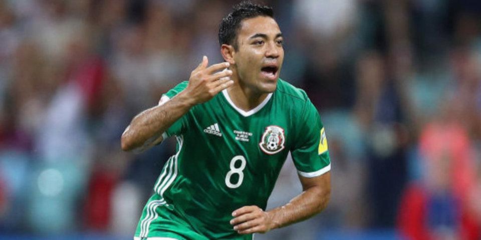 Мексиканец Фабиан – автор лучшего гола на Кубке конфедераций-2017