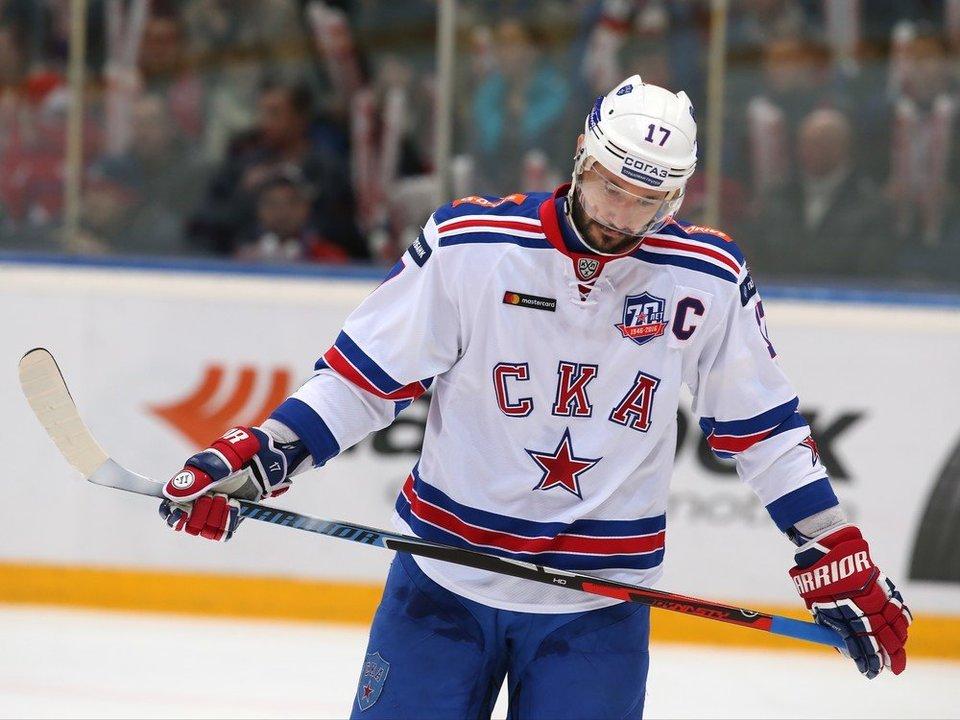 Шайбы Ковальчука и Херсли помогли СКА обыграть «Сочи»