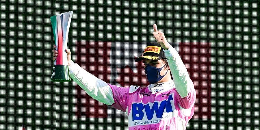 В «Рэйсинг Пойнт» бурно отреагировали на победу Стролла в квалификации Гран-при Турции