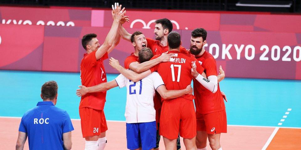 Российские волейболисты победили Аргентину в первом матче на Олимпиаде