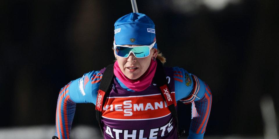 Глазырина стала чемпионкой России в спринте, у Мироновой — бронза
