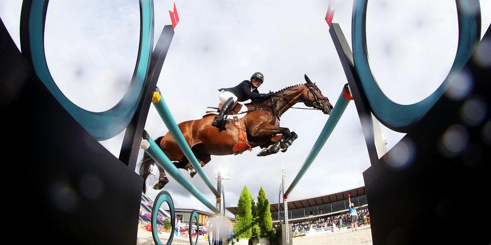 Немка Краевски завоевала золото Олимпийских игр в троеборье