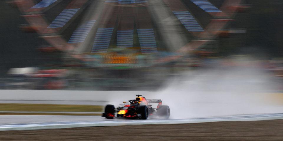 Сироткин — третий перед квалификацией Гран-при Германии, дождь не дал половине пилотов показать время