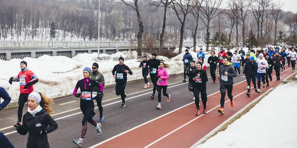 5000  человек дали старт беговому сезону в Москве
