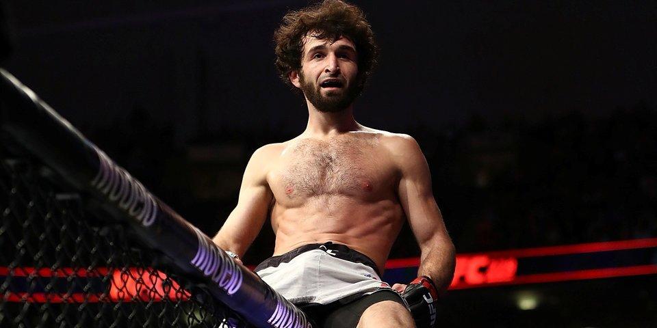 Боец UFC повредил плечо, празднуя победу. А также видео боя Магомедшарипов — Стивенс