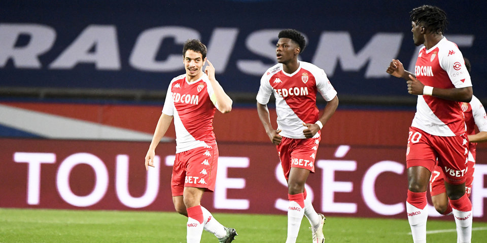 Игроки «Монако» и «Лиона» подрались на поле сразу после матча (видео)