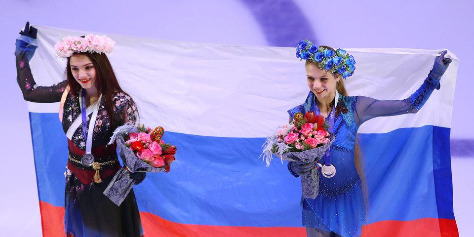 Тренер Медведевой оценил выступление Трусовой на Гран-при России