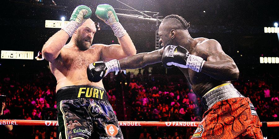 Почему бой Уайлдер vs Фьюри это не бой года? Чем опасен Тайсон Фьюри для Александра Усика?