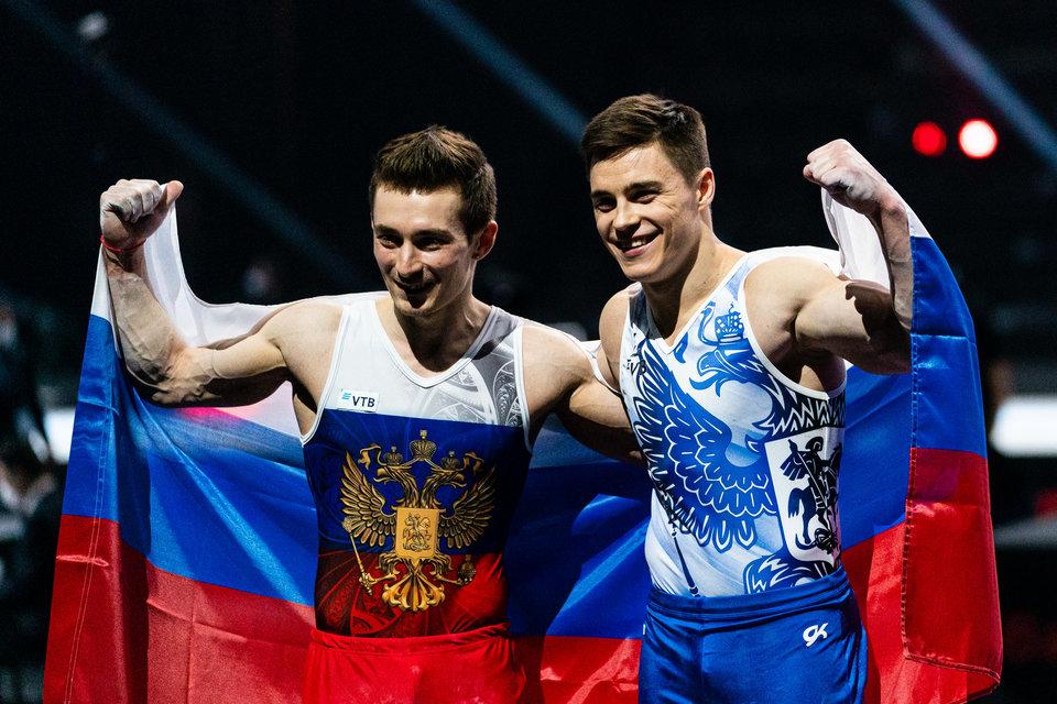 Сборная России выиграла медальный зачет чемпионата Европы по спортивной гимнастике
