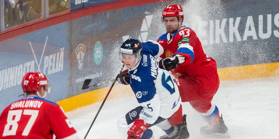 Россия победила Финляндию на Кубке Карьялы