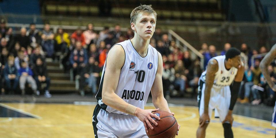 Никита Михайловский — в финальном списке подавших заявку на участие в драфте НБА