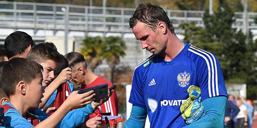 Шунин впервые за 8 лет сыграет за сборную России