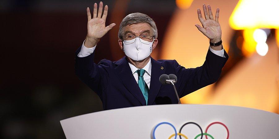Томас Бах примет участие в церемонии открытия Паралимпийских игр в Токио