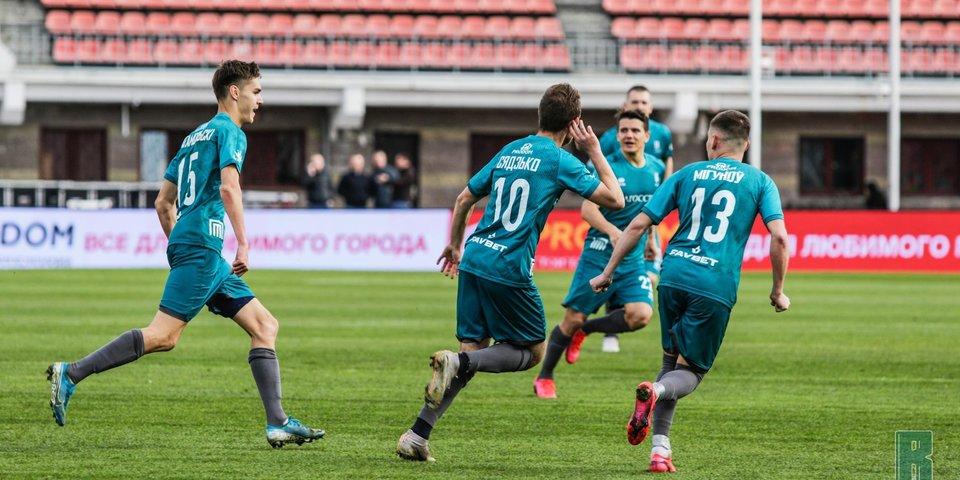 «Рух» разгромил «Белшину» в матче чемпионата Белоруссии