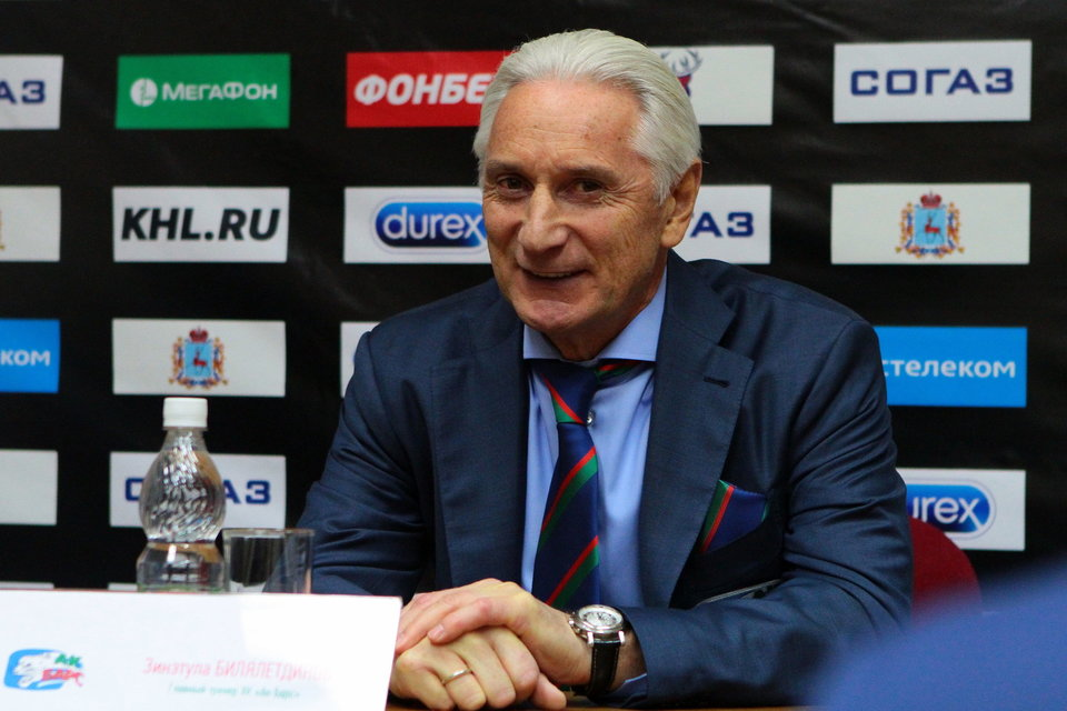 Зинэтула Билялетдинов: «Вопросов к «Ак Барсу» у меня нет, ребята играют с пониманием»