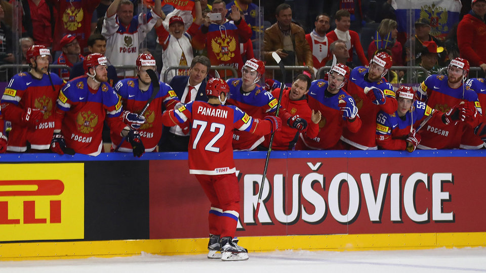 Россия с победы над шведами стартовала на чемпионате мира