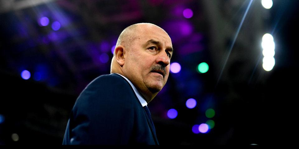 Черчесов стал лидером по количеству поражений на посту главного тренера сборной России