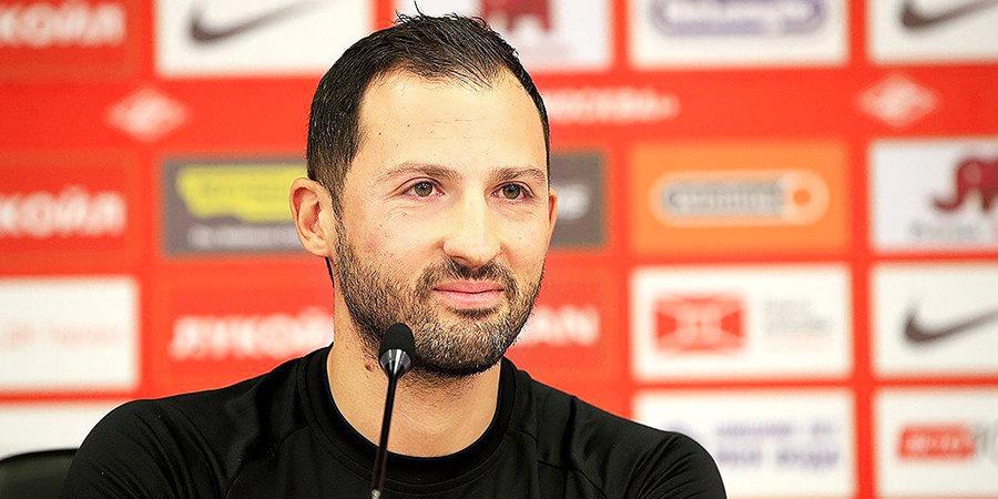 Тедеско продолжит тренировать «Спартак» до мая 2021 года