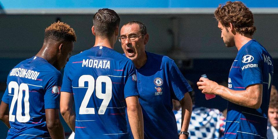 Маурицио Сарри: «Уверен, что Азар останется в «Челси»
