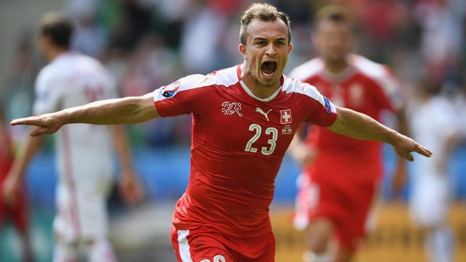 Шакири – лучший игрок матча с Сербией