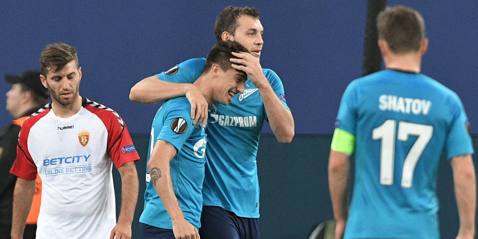 Эмилиано Ригони: «Футболисты «Зенита» не думали о матче со «Спартаком» перед игрой с «Вардаром»