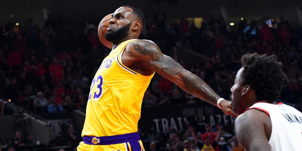Леброн Джеймс вышел на пятое место в истории НБА по количеству очков