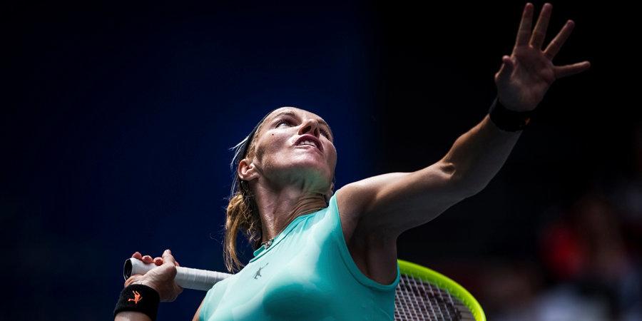 Светлана Кузнецова: «Надеюсь, в августе турниров не будет»