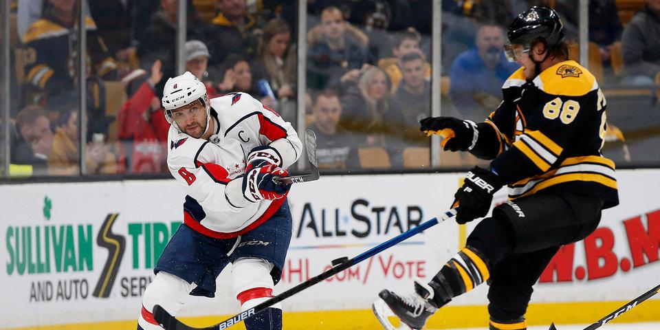 Русский день в НХЛ: Овечкин с Панариным забросили по две шайбы