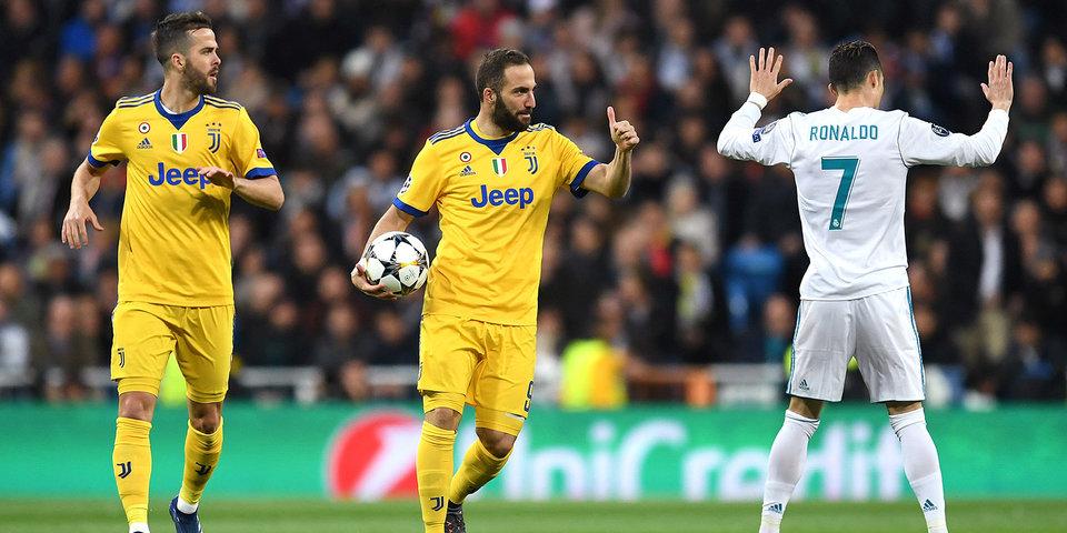 «Реал» проиграл «Ювентусу» на «Сантьяго Бернабеу», но вышел в полуфинал Лиги чемпионов