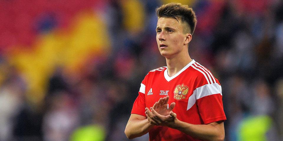 Головин уже вошел в число лучших молодых игроков ЧМ-2018