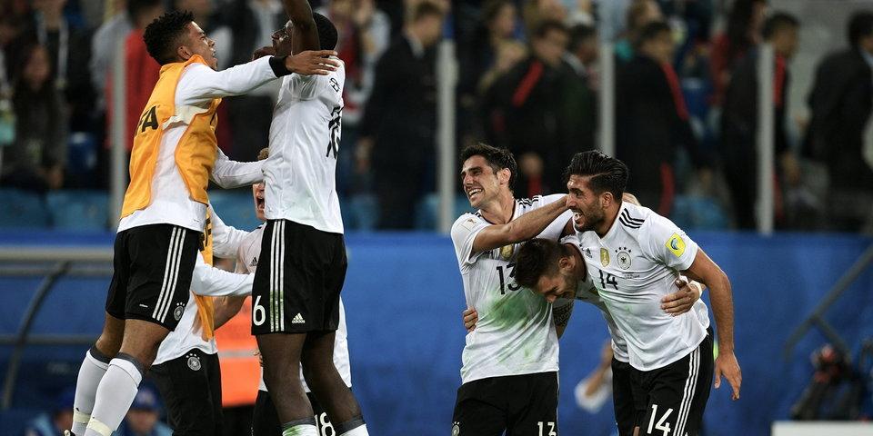 Немцы – победители Кубка конфедераций! Гол и лучшие моменты финала
